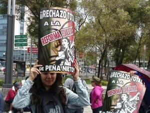 Protester, September 1.