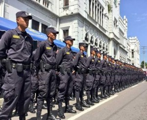 Agents of the National Civil Police (PNC) have received training as part of the actions of the Secure El Salvador Plan.