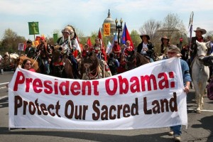 Photo by Aldo Seone. Civil society's opposition to the proposal for the nearly 2,000-km, $10-billion private tar-sands crude transport project catapulted the issue into the hottest political spot on U.S. President Barack Obama's environmental radar screen.