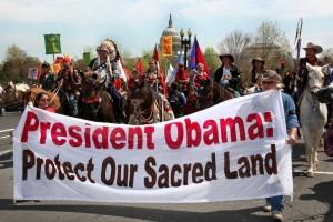 Foto de Aldo Seone. La oposición firme y sostenida de la sociedad civil a la propuesta del Canadian TransCanada Corp. se transformó en el asunto ambiental más importante del Presidente Barack Obama.
