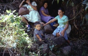 Photo by Philippe Bourgois, an anthropologist conducting research in El Salvador who survived the slaughter.